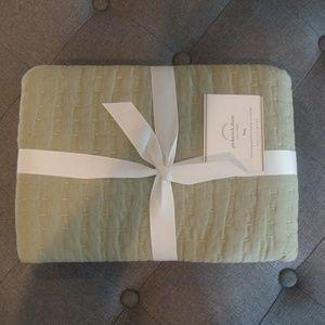 Pottery Barn Pick-Stitch Handcrafted Pillow Sham